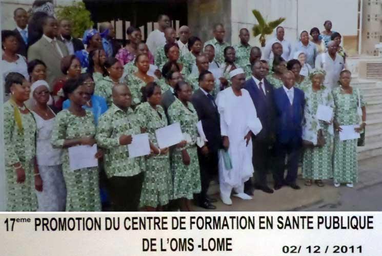 PROMOTION CENTRE DE FORMATION EN SANTE PUBLIQUE